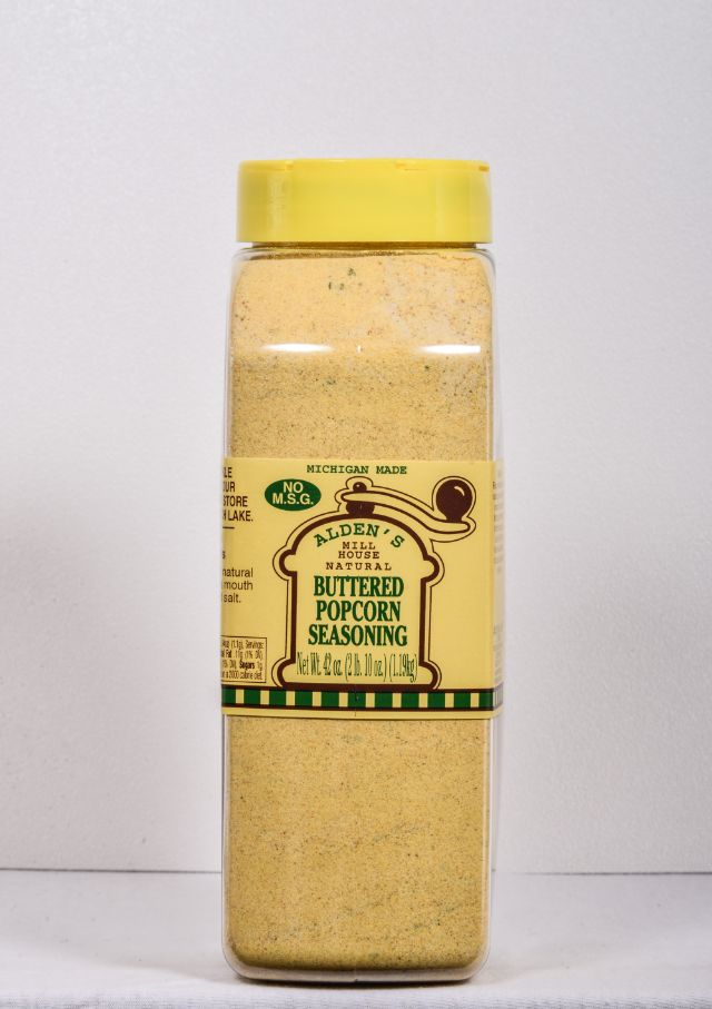 Buttered Popcorn Seasoning 39 Oz Alden Mill House