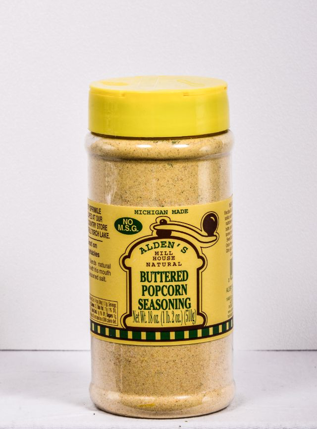 Buttered Popcorn Seasoning 16 8 Oz Alden Mill House